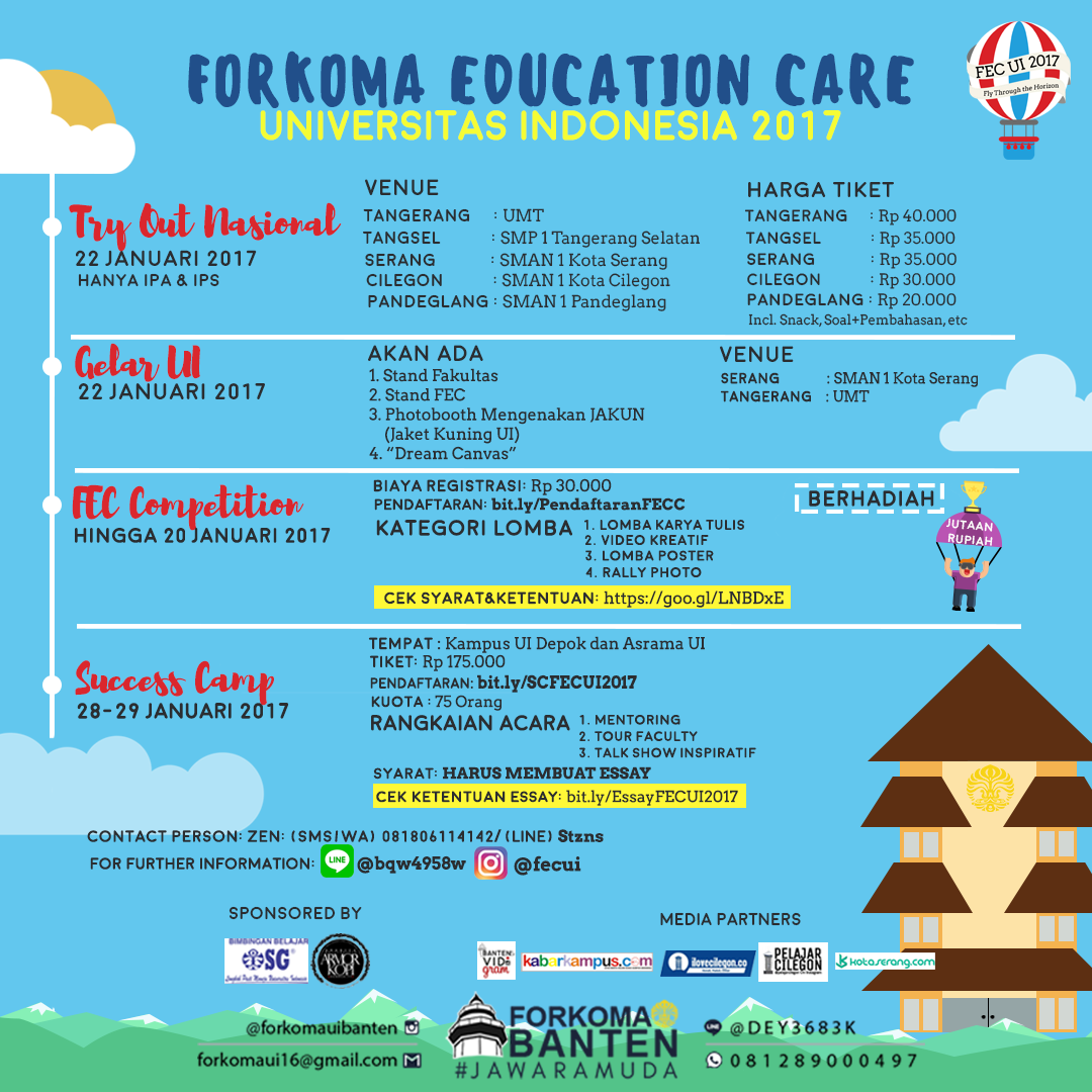 FORKOMA Education Care Universitas Indonesia